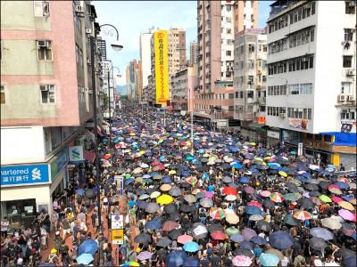 反送中激發危機意識 港人移居台灣人數暴增