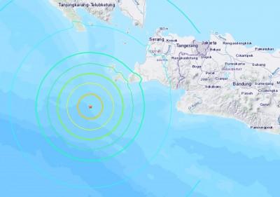 快訊》印尼蘇門答臘發生規模6.9地震 發布海嘯警報