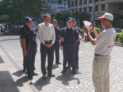 抗議蔡英文祖墳違建 「拔菜總部」要求侯友宜拆除