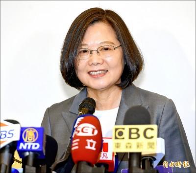 貪污說 引爭議》蔡回擊:政治人物發言 要有證據