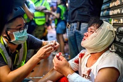 香港大三罷 148人被逮 最小13歲