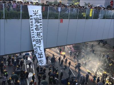 從反送中到光復香港 港人啟動革命