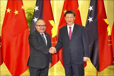 澳洲拉攏失敗 巴紐2475億債務找中國融資