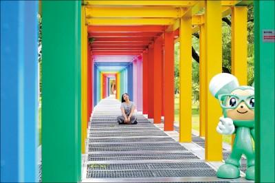 【彩虹景點繽fun樂】台南‧新營美術園區 鼠於童年的繽紛長廊