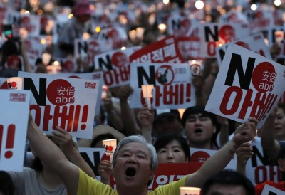 日韓交惡擴大 韓調查:約6成韓國人參加抵制日貨運動