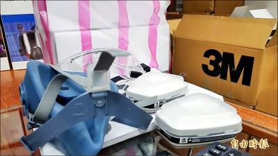 反送中抗惡警 台灣3M濾毒罐賣到缺貨