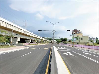 《竹縣》高鐵橋下道延伸竹科 二期二階19日通車