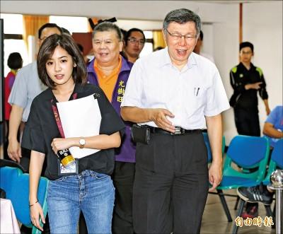 捧郭台銘 柯文哲:台灣需要的危機型領導人