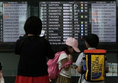 柯羅莎外圍環流影響 虎航明天2班東京航班延飛