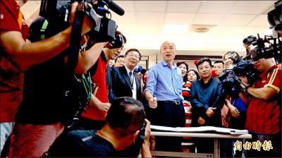 4000萬獻金未申報?韓國瑜怒:若收了 退出政壇