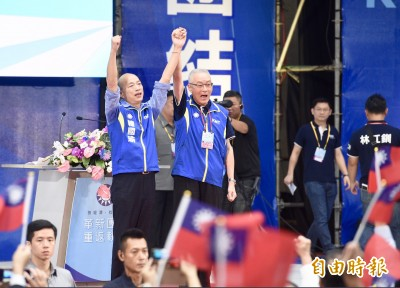 韓國瑜北上密會吳敦義 商討選戰分工