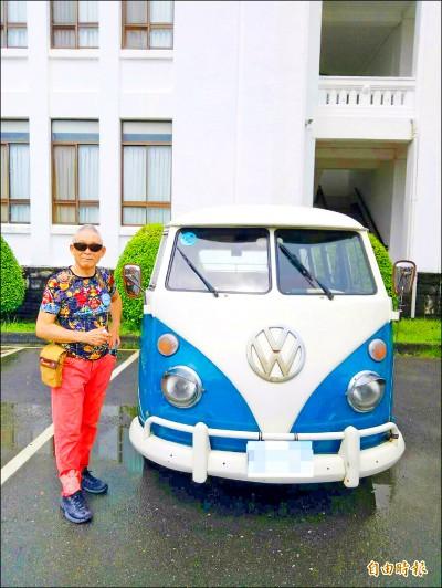 南投》骨董汽機車聚 52歲裕隆計程車會合