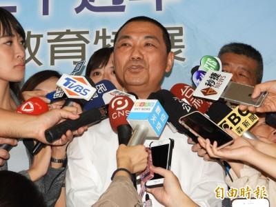 拒接韓競總主委挨轟「忘恩負義」 侯友宜:永遠記得對市民的承諾