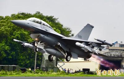 批准F-16V新型戰機 總統府:感謝川普總統對台灣國防安全的重視
