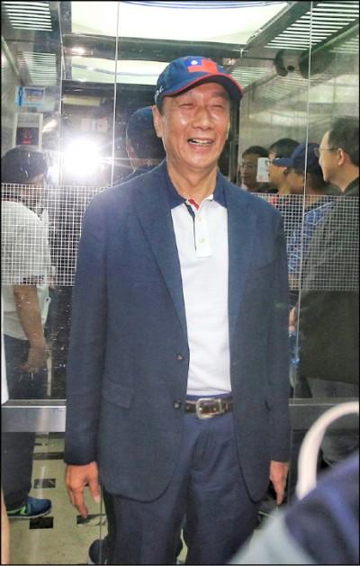 郭沒空見吳 國民黨:努力協調