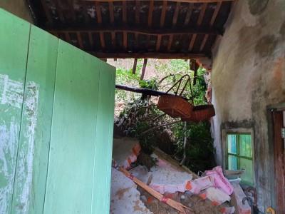 大雨不斷 土石沖入苑裡民宅
