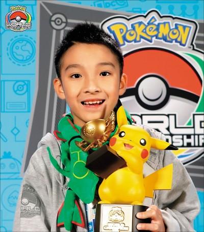 寶可夢國際賽 台灣10歲童奪冠