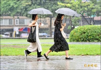 今明全台嚴防 致災性降雨