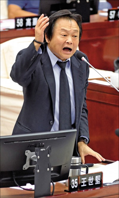 《台北》民進黨立委提名 王世堅︰「柯黑」被打槍