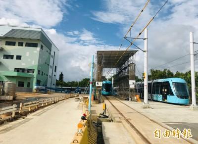 淡海輕軌機廠8月完工跳票 議員質疑拚通車不顧安全