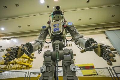 俄羅斯機器人當太空人 獨自搭火箭到太空站