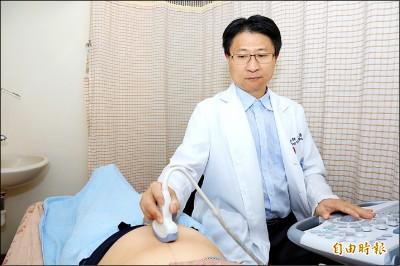 高層次超音波 照出胎兒心臟病