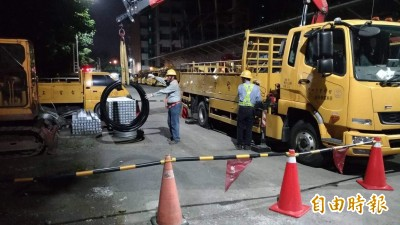 白鹿侵襲南台灣 累積逾1.4萬戶停電