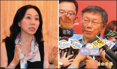 李佳芬:若重選 會對從政說NO/柯P:選市長還可以 得意忘形要小心