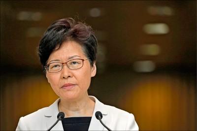傳林鄭曾建議撤法 北京拒絕