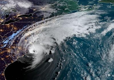 颶風多利安襲美!北卡州島嶼驚傳800餘人受困