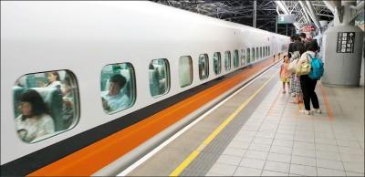 高鐵國慶疏運車次 12日凌晨開賣