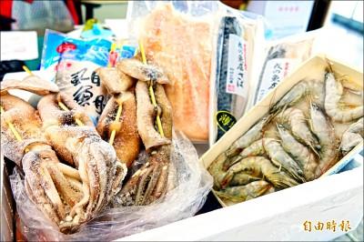 中秋烤海鮮 魷魚漲價2成