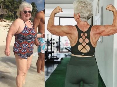 阿嬤界的館長?曾胖到90公斤 73歲嬤減重練出超狂身材