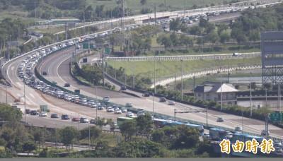 收假! 明北上車流預計增1.5倍 高公局:這9路段可能特別塞