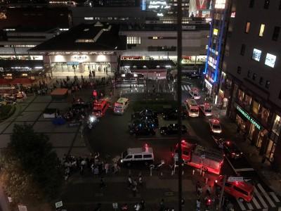 名古屋驚傳計程車衝向人群 75歲運將撞傷7人