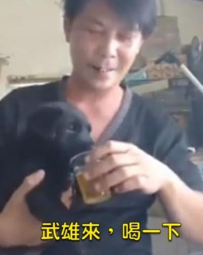 逼幼犬喝酒惹議!林佳新反嗆:你們的寵物有我的健康?