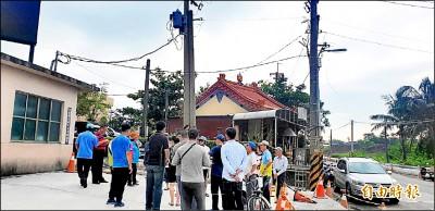 屏128線擬封路兩週施工 屏東縣林邊居民抗議改封週休