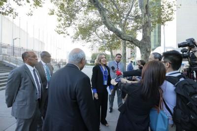 友邦挺台》11代表親自遞函聯合國 教廷、海地代表也一起