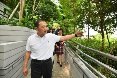 侯友宜:星國海軍部村落 新北銀新未來城可參考
