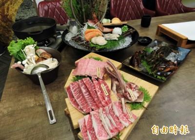 天天吃好料》台中宮鶴炙燒 燒肉鍋物一次滿足