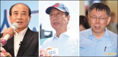 總統連署郭柯王全缺席 呂秋遠10點啟示 網:好有畫面