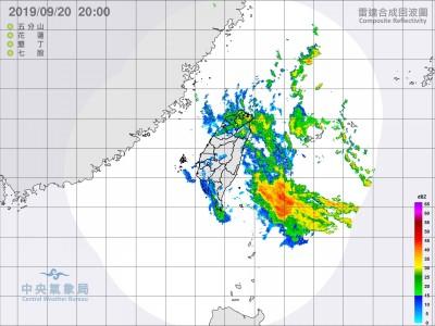 輕颱塔巴今明距台最近 北東涼又雨 中南部天晴
