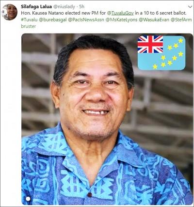 吐瓦魯選出新總理 台吐邦交受關注