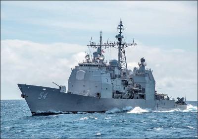 今年第8度 美軍作戰艦昨航經台海