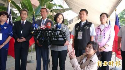 中國打壓台灣 蔡英文:不會因執政人不同而改變