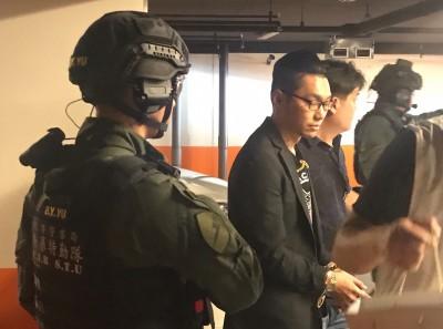 引發高雄街頭大亂鬥 直播主連千毅被警方逮捕