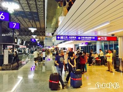 塔巴颱風攪局 長榮、華航部分赴日航班取消
