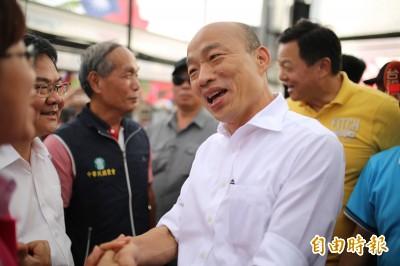 《聯合報》民調56%討厭他 黃創夏:恭喜賀喜韓國瑜