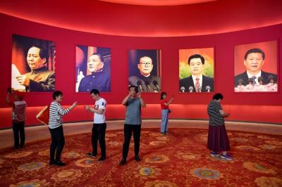 中國建政70年《大事記》  提台灣26次、未見六四