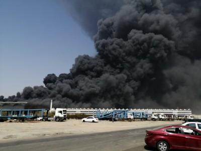 沙烏地阿拉伯「聖城高鐵」車站失火 人車撤離未傳傷亡